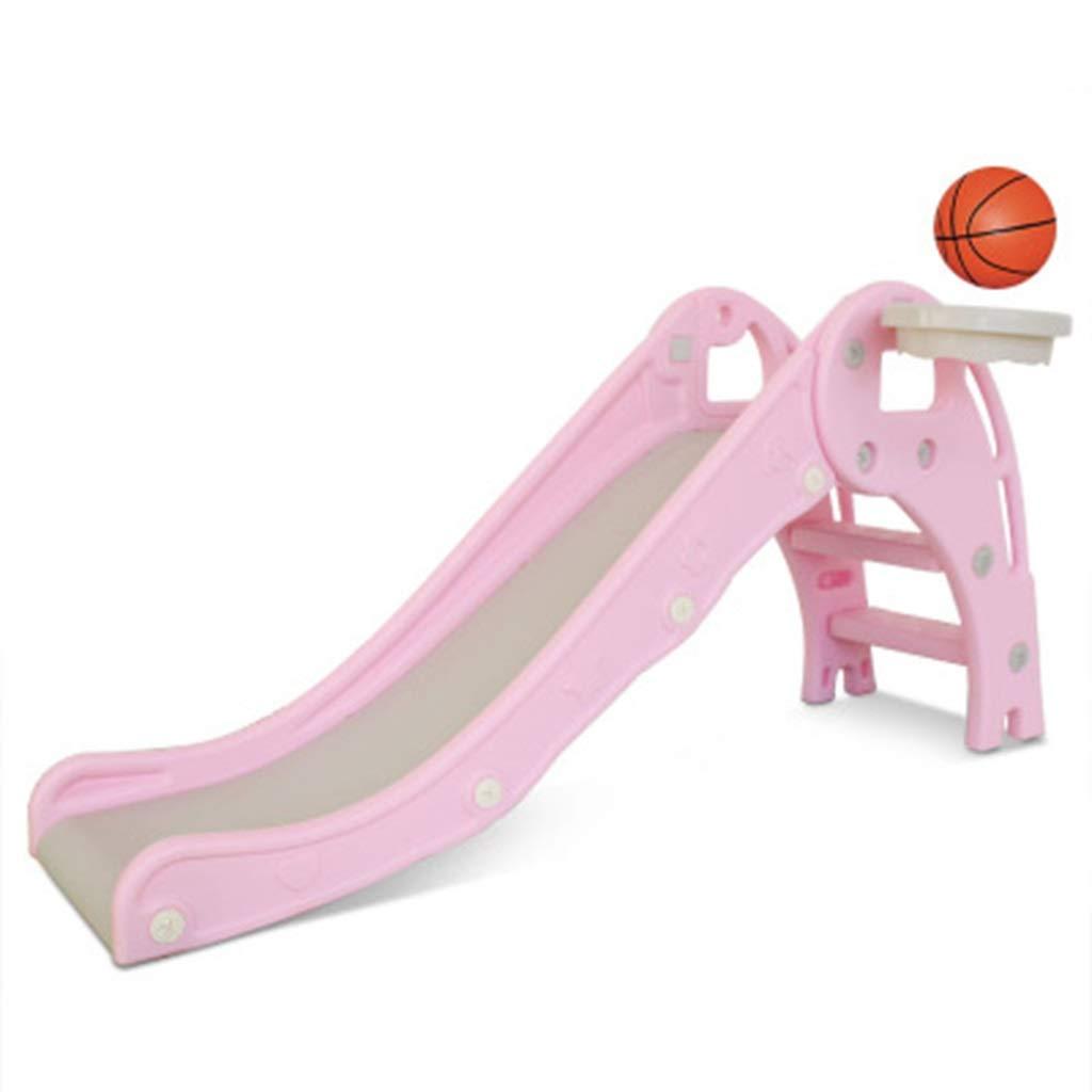 Diapositiva Toboganes para Niños Juguetes Combinados Hogar Pequeño Extendido Y Elevado Jardín De Infantes Parque Infantil (Color : Pink, Size : 140 * 76 * 81cm): Amazon.es: Hogar