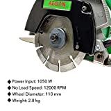 Aegon Ac4 Made in India Heavy Duty Multipurpose Marble/Tile/Granite/Stone/Brick/Porcelain/Ceramic Cutter with 1 Blade, 1 Diamond Wheel & 1 Cutting Wheel (1050 W, 4 Inch, Green)