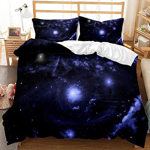 Bedclothes-Blanket Juegos de Fundas para edredón,SQUET Tres Piezas CASA 3D IMPRESIÓN Digital Cama Digital SINGO SINGO Agujero VACÍO Agujero-2_228 * 228cm