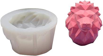 Molde de silicona, molde de silicona con diseño de animales para jabón, chocolate,