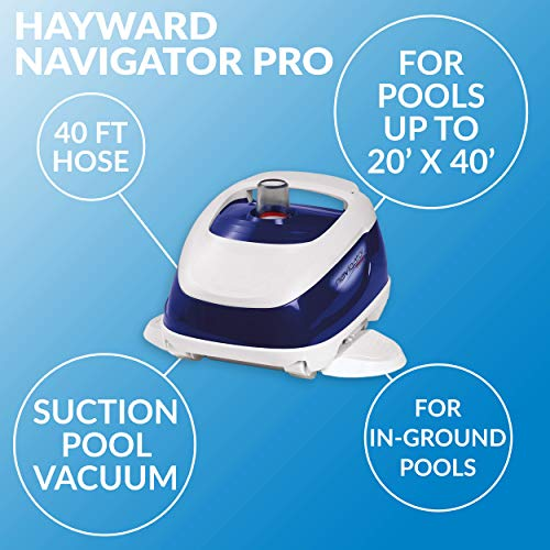 Key Features of the Hayward W3925ADC Navigator Pro Pool Vacuum Cleaner