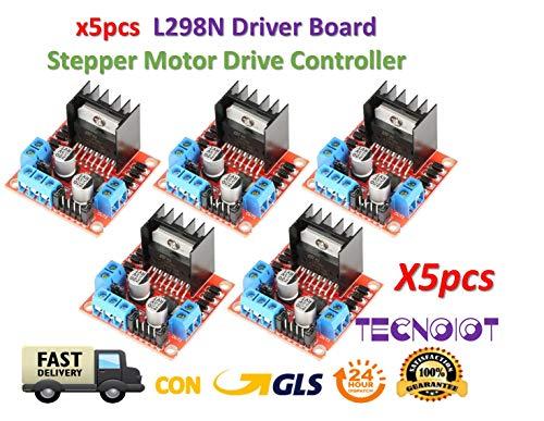 5pcs L298N Driver Board L298 Stepper Motor Drive Controller Module Dual H Bridge