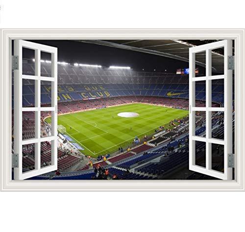 Pegatinas de pared grandes Decoración para el hogar Pelota de fútbol Patio...