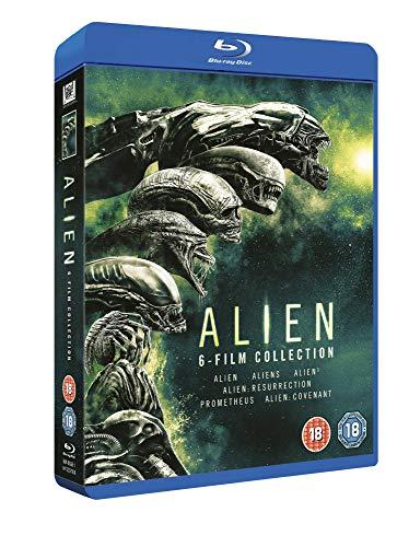 Alien 1-6 Boxset BD [Blu-ray] [2017]
