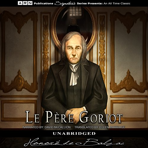Le Pere Goriot audiobook cover art