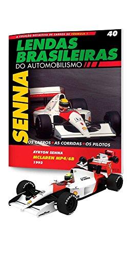 Mclaren Honda Mp4/6B. Ayrton Senna - Lendas Brasileiras do Automonilismo. 40