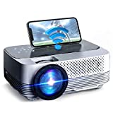 """VicTsing WiFi Projector-4200L Wireless Bluetooth Mini Projector with Tripod, 1080P 170"""" Display Supported, Compatible with TV Stick, PS4, DVD, Portable Protector for Home Entertainment【2020 New Tech】"""