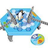 1. Package Content - 3 different versions of the spinner (e.g. break 2 blocks instead of 1, etc.).38 pieces of bIue and white blocks,1 penguin,a platform with four small pillars and 2 hammers.It is so cute and easy to set up and play. 2. Endless Ente...