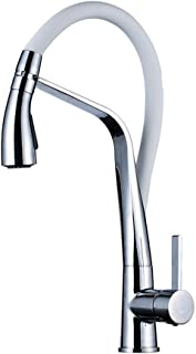 Print Yoga Mat Kitchen Sink Faucet Nickel Brushed 360 Rotatable Kitchen Faucet Pull on Bath Towel Bathroom Faucet,Colour:C...