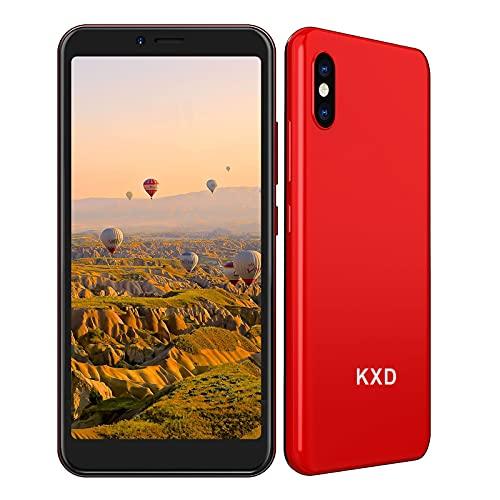 Smartphone Offerta del Giorno 3G, KXD 6A (2021) 5,5   Schermo Fotocamera Tripla Face ID 2500mAh Batteria Cellulari Offerte 8G ROM 64GB Espandibili Dual SIM Android 8.1 Economici Telefoni Mobile, Rosso
