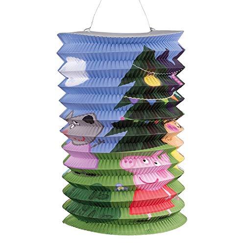 Peppa Pig Linterna | Altura 25,0 cm Niños Lampion | Decoración Fiesta
