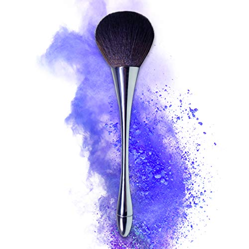 Pinceau Fond de Teint Professionnel pour Maquillage du Visage - Parfait Pour le Mélange Poudre Cosmétique Sans Défaut - Polissage, Pointillé, Anticernes