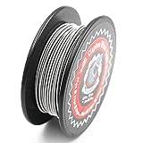 Clapton Draht 24GA/30GA Widerstand Wire, Vapethink Fertigwicklungen Coil Round,10 Meters