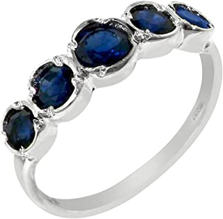 Best sterling silver sapphire band Reviews