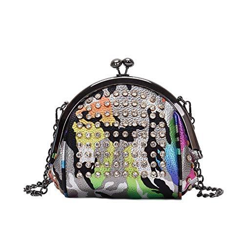 SeOSTO Glitter Sequin Handbag Evening Dress Purse Cross Shoulder Strap Exclusive for women