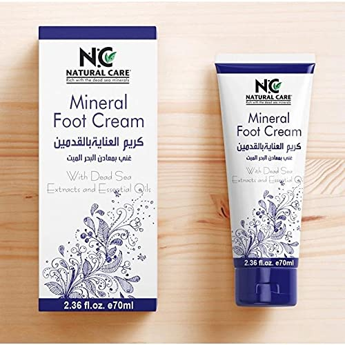 Mineral Care Foot Cream Dri Skin Rejuvenate Directly managed store Friendly It is very popular