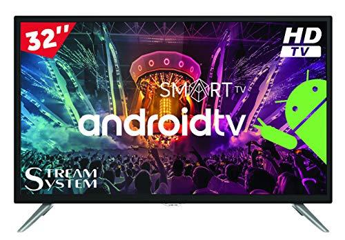 Stream System BM32C1 Smart - TV 32 'HD Ready, Android TV, Smart TV (Netflix, HBO, Youtube), HDMI, USB, VGA (