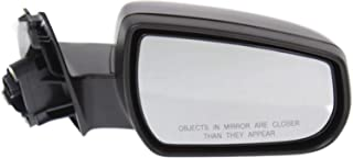 Partslink GM1321488 G, 2013-2013 Chevrolet Malibu Passenger Side Power Door Mirror; With Heated Glass; With Memory With Turn Signal; Non-Folding Type; Textured Cover; Convex Glass