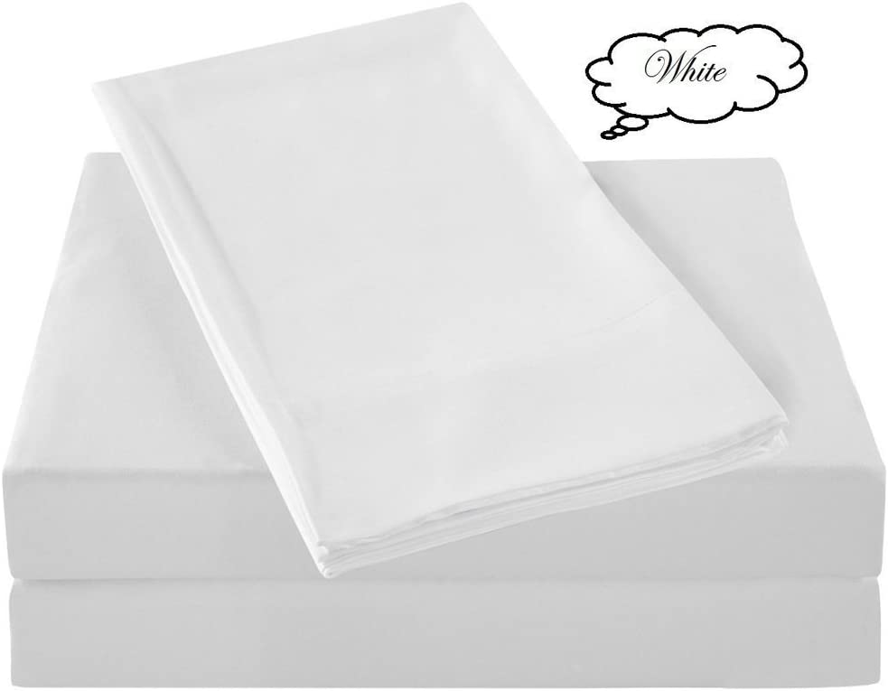 Jenylinen Amazon's No# 1 Selling 600 NEW before New sales selling Solid White - Thread Count