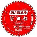 Freud D0641X Diablo 6-1/2-inch 40 ATB Finishing/Plywood Circular Saw Blade