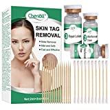 Skin Tag Removal,Mole Remover and Repair Gel Set, with Repair Lotion Knit, Safe and Effective