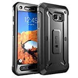 Galaxy S7 Active Case, SUPCASE Full-Body Rugged Holster Case with Built-in Screen Protector for Samsung Galaxy S7 Active, Unicorn Beetle PRO Series (Not Compatible with Galaxy S7) (Black/Black)