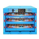 Jlxl Incubatrice automatica per 192 uova di gallina, controllo della temperatura regolabile, con luce LED integrata, per incubazione di polli, anatre e fattorie.