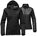The North Face Women's Thermoball Triclimate Jacket, TNF Black, X-Large
