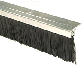 H/öhe=3mm 5m B/ürstendichtung Dichtungsb/ürste T/ürb/ürste selbstklebend Farbe Grau