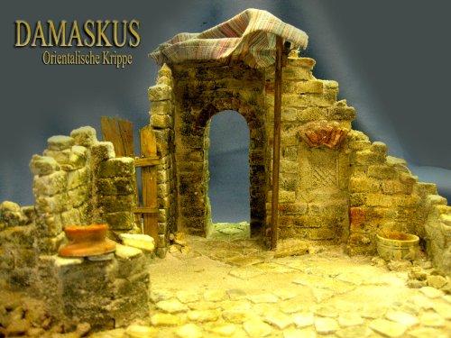 Orientalische Krippe Damaskus (1), Bausatz