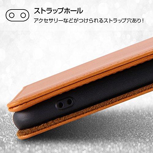 レイ・アウトiPhoneXケース手帳型本革/ブラックRT-P16RLC1/B