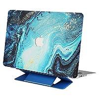 KKmoon MacBook Air 13 / 13.3ケースApple 13インチ/ 13.3インチMacBook AirモデルA1369 / A1466用 極薄ゴム引き コーティング ラップトップ カバー シェル 自由ブルースタンド付き
