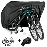 WAEKIYTL Bike Cover Waterproof Outdoor XL XXL Bicycle Cover for 2...