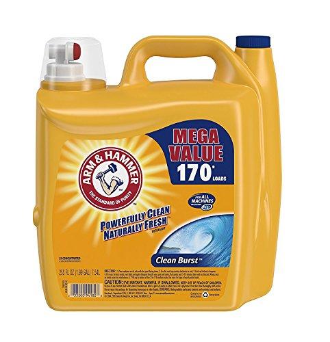 Arm & Hammer Clean Burst Liquid Laundry Detergent - 255 fl oz