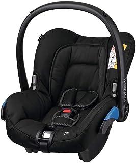 Maxi-Cosi Citi Babyschale, federleichter Baby-Autositz Gruppe 0 0-13 kg, nutzbar ab der Geburt bis ca. 12 Monate, Black Raven schwarz