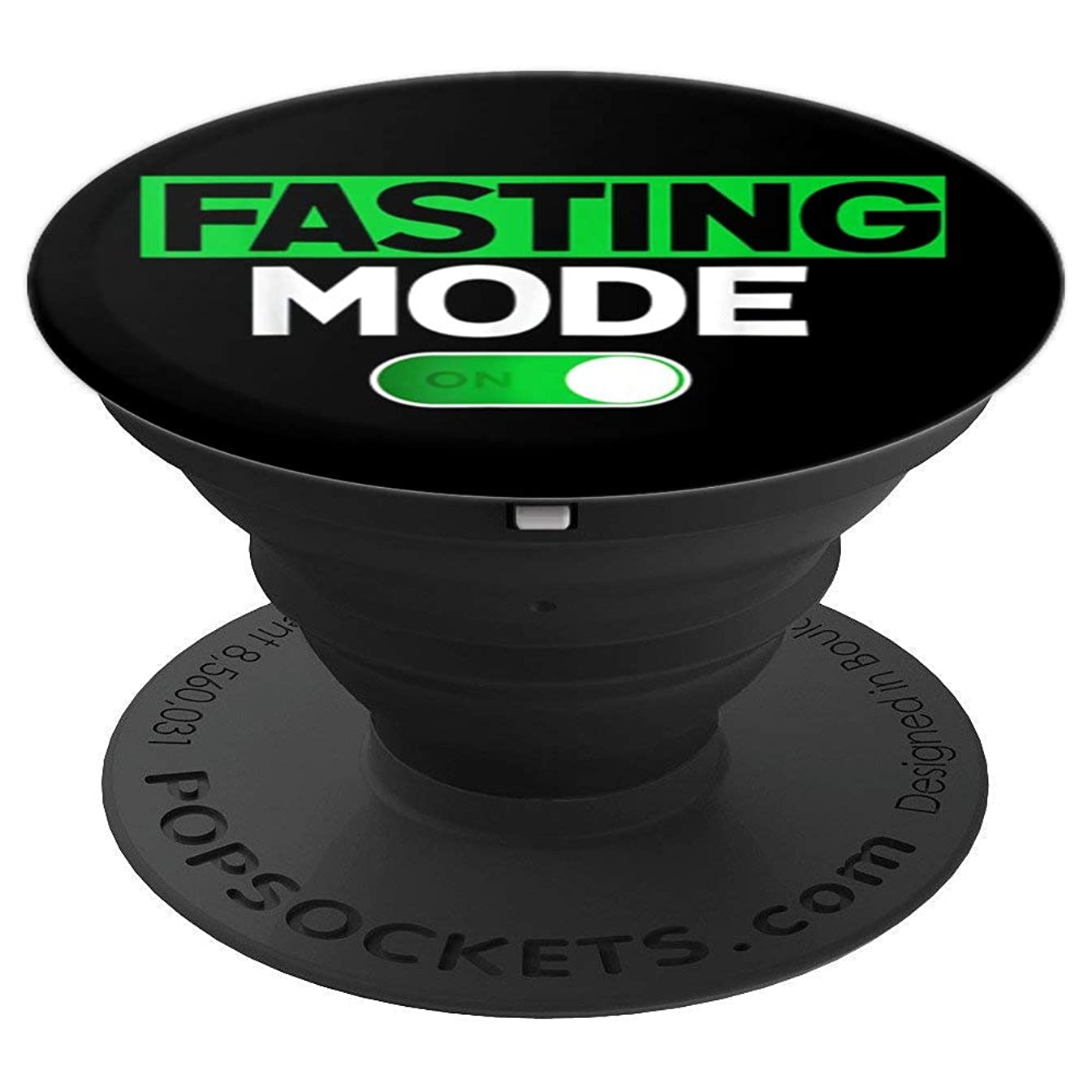 Arabic Fasting Mode On Ramadan Mubarak Kareem T-Shirt Gifts - PopSockets Grip and Stand for Phones and Tablets