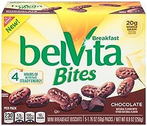 Belvita Bites Breakfast Biscuits, Chocolate, 8.8 Ounce