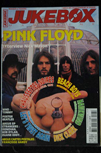JUKEBOX 223 * 2005 * PINK FLOYD CHAUSSETTES NOIRES BEACH BOYS