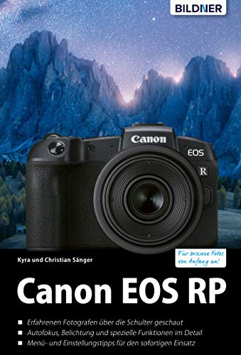 Canon EOS RP: Das umfangreiche Praxisbuch (German Edition)