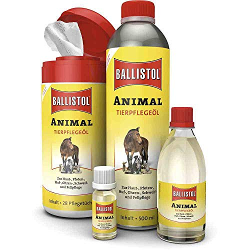 BALLISTOL Animal Öl Tierpflegeöl 500 ml inklusive passenden Sprühkopf