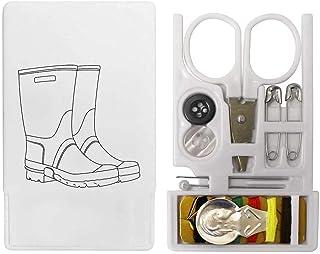 'Pair of Wellies' Mini Travel Sewing Kit (SE00017070)