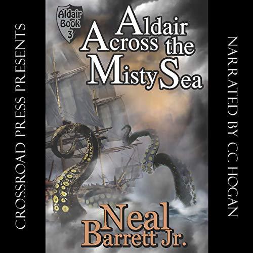 Aldair, Across the Misty Sea audiobook cover art