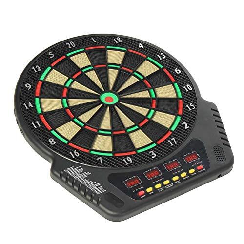 Xbai 230V 18-Zoll-professionelle elektronische Dart-Board Bullseye 4 LED-Anzeige Spielmethoden mit elektronischem Dart-Kunststoffkopf