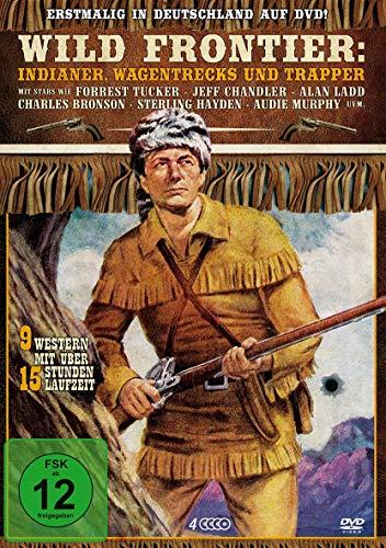 Wild Frontier - Indianer, Wagentrecks und Trapper [4 DVDs]