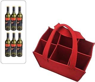 spiaggia Borsa per il trasporto di vino Borsa per bottiglia di vino in neoprene 1PC Custodia protettiva Portabottiglie di vino per picnic viaggi