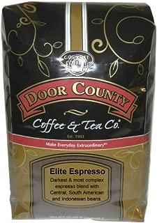 Door County Coffee, Elite Espresso, Fine Grind, 5lb Bag