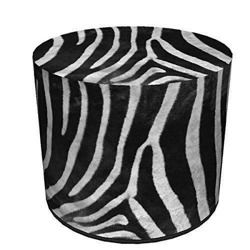 pouf zebra Bertoni Pouf di design pouf/sgabello per sedersi 40x40 fodera con velcro in vari colori motivo stampato ZEBRA