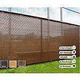 Pantalla de privacidad pantalla de balcón protección de la privacidad valla cortavientos hdpe resistente a la intemperie con corbata patio, piscina, toldo puede ser personalizado