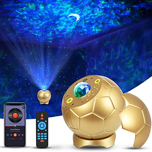 Laser Star Projector, Enow Nebula Cloud Galaxy Projector for Bedroom, Skylight Starry Moon Night Light Projector with Bluetooth Speaker, 30 Aurora Lighting Effects, 360° Rotation, Room Decor, Party