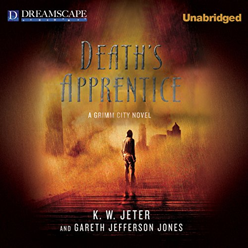 Death's Apprentice audiobook cover art